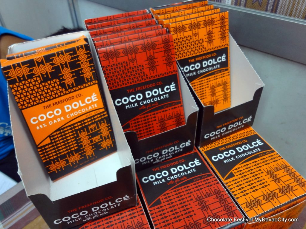 Coco Dolce Chocolate Bars at the SM City Davao Chocolate Festival 2014