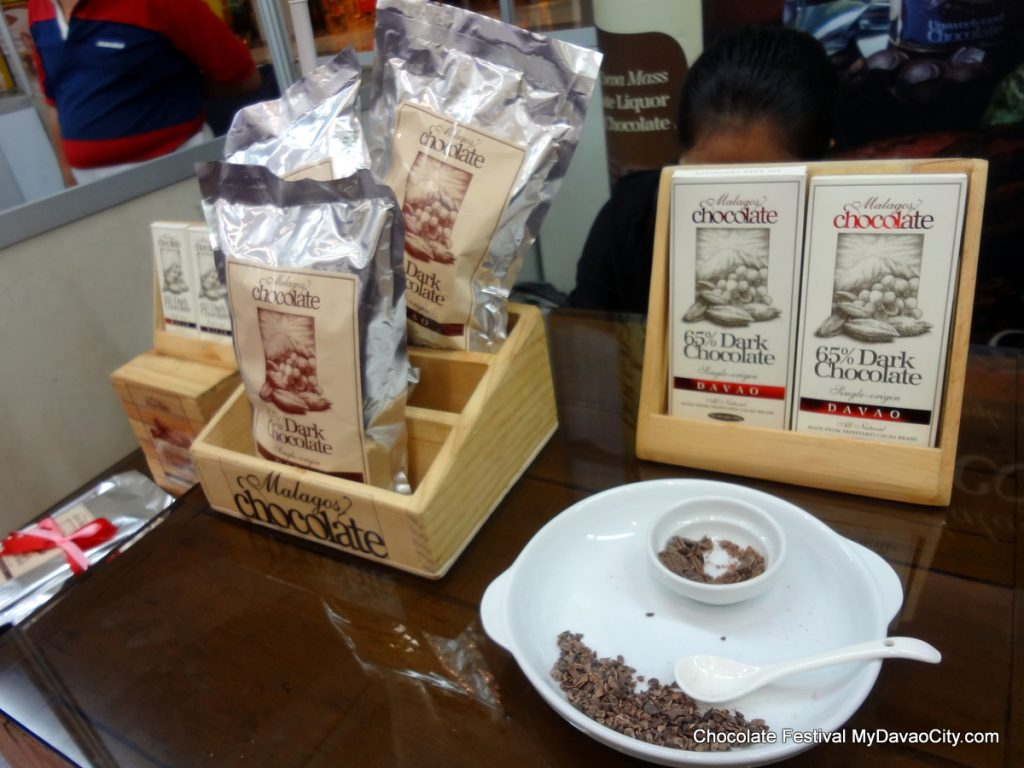 Malagos Chocolate Products at the SM City Davao Chocolate Festival