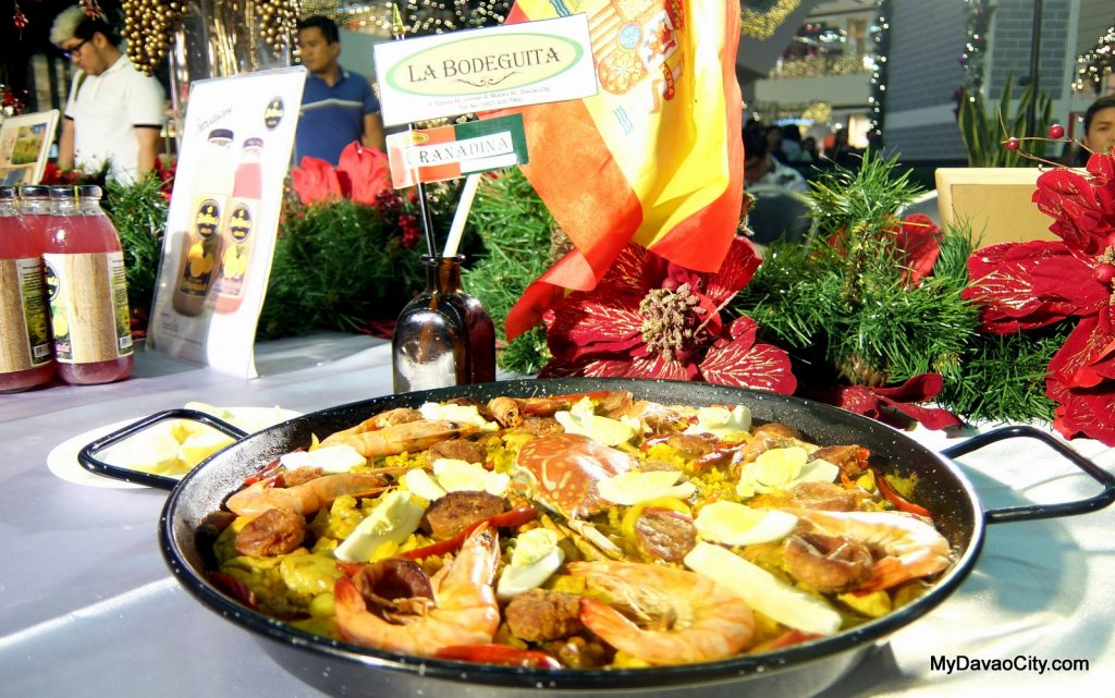 La Bodeguita Paella at the Davao Gourmet Collective Festive Food Holiday Market