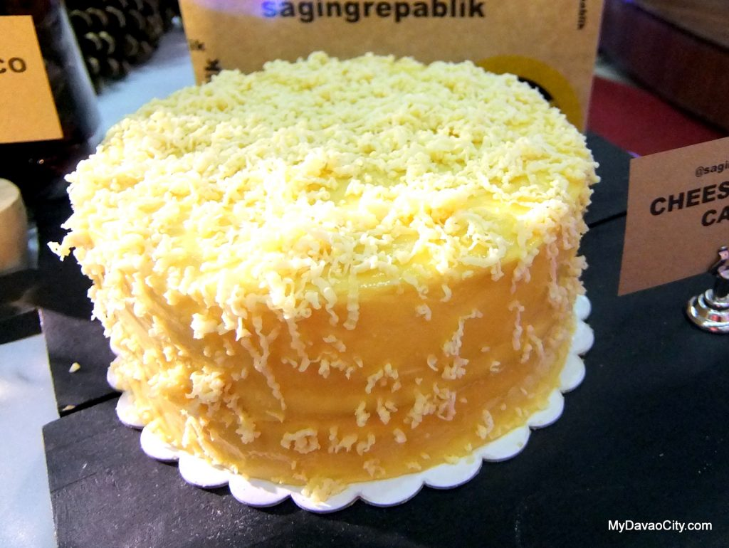 Saging Repablik Cheesy Yema Cake at the Davao Gourmet Collective Festive Food Holiday Market