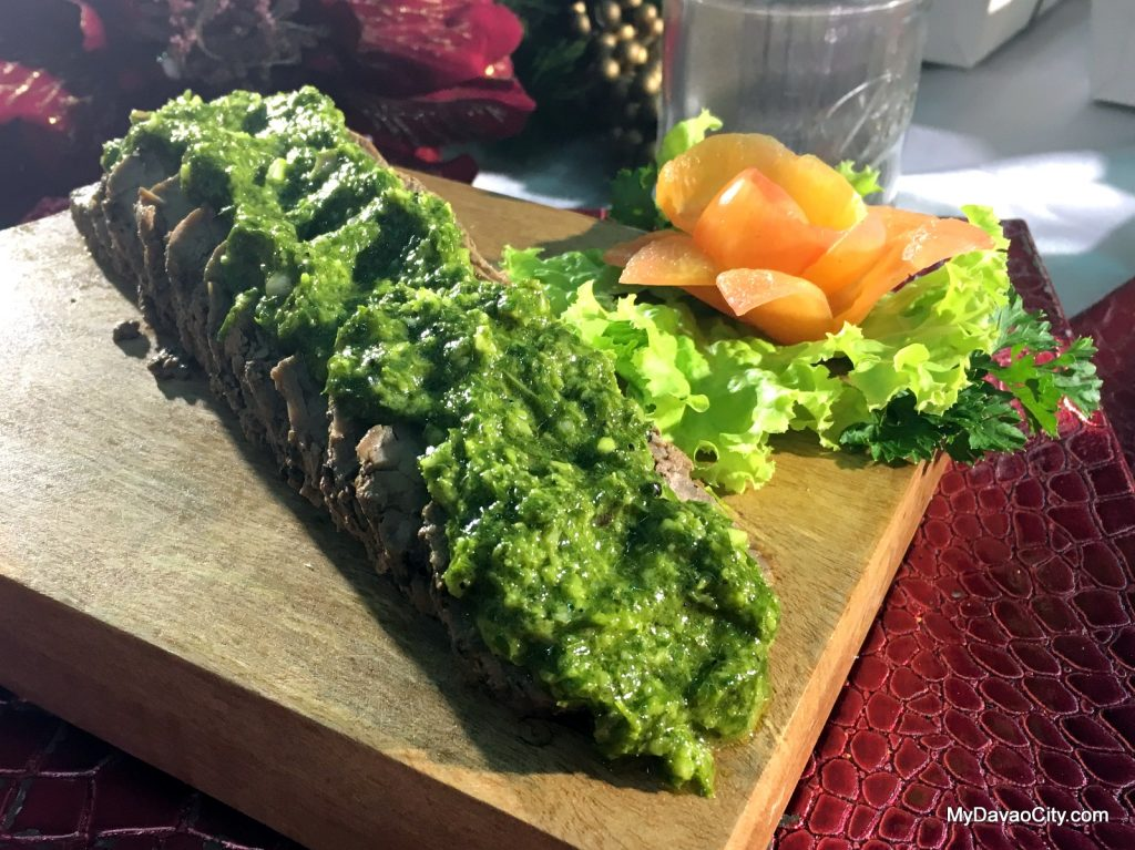 Chimichurri Sauce by Cafe El Gato at the Davao Gourmet Collective Festive Food Holiday Market