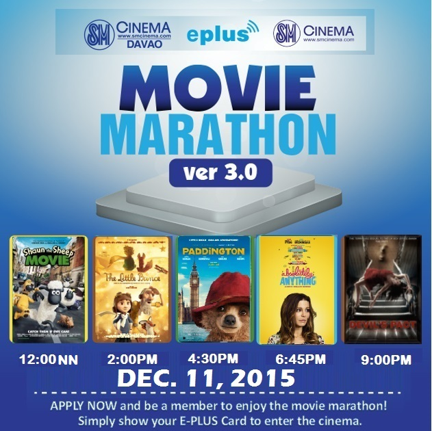SM EPLus Movie Marathon 2015