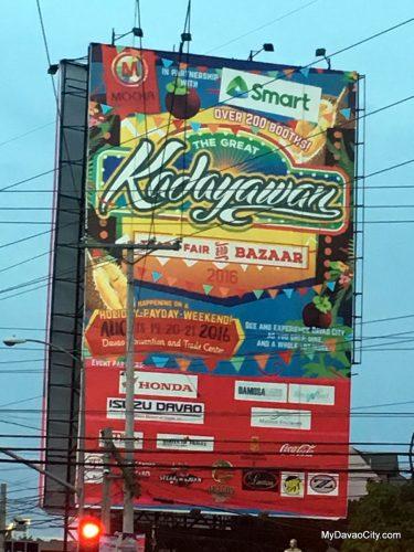Kadayawan Bazaar 2016