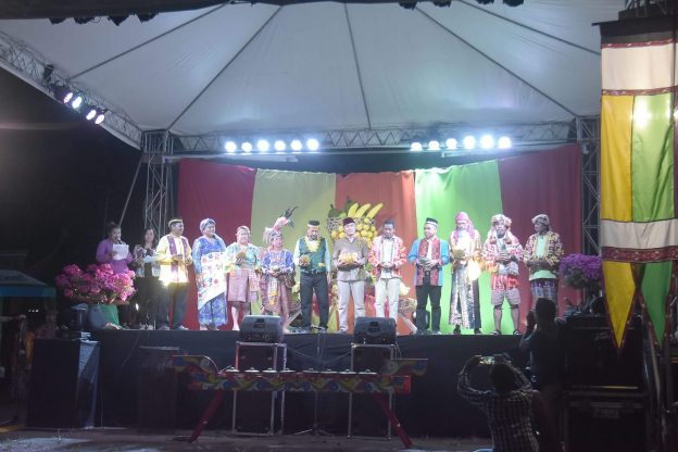 Representatives of the 11 Tribes of Davao at the Opening of Kadayawan Festival 2016