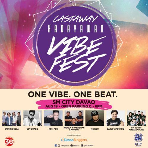 SM Castaway Kadayawan VibeFest 2016
