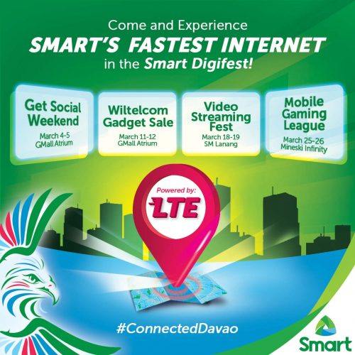 Connected Davao Smart Digifest 2017 Schedule