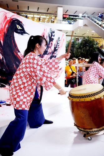 Utsuka Taiko Drummers. Photo by Eliza Dayanghirang of http://www.elizadayanghirang.com.
