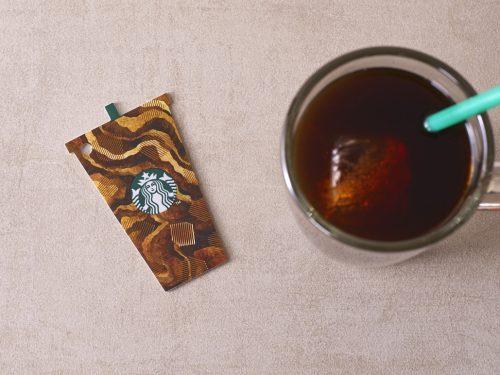 Starbucks Iced Coffee Card