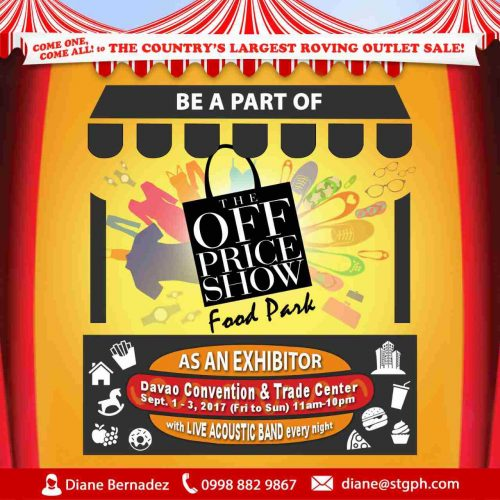 The Off Price Show Davao 2017 Food Park