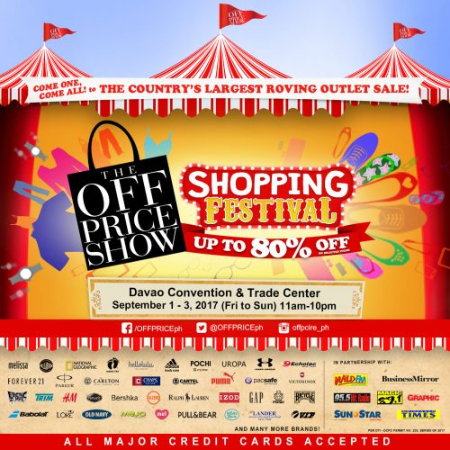 The Off Price Show Davao Shopping Festival 2017