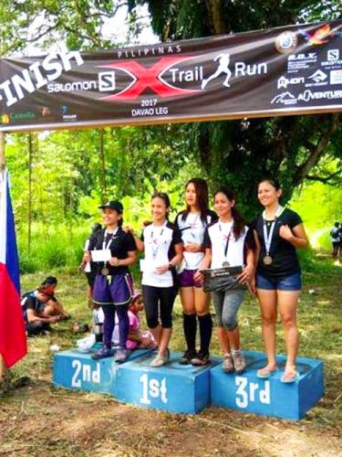 Salomon X Trail Davao Female Podium Finishers