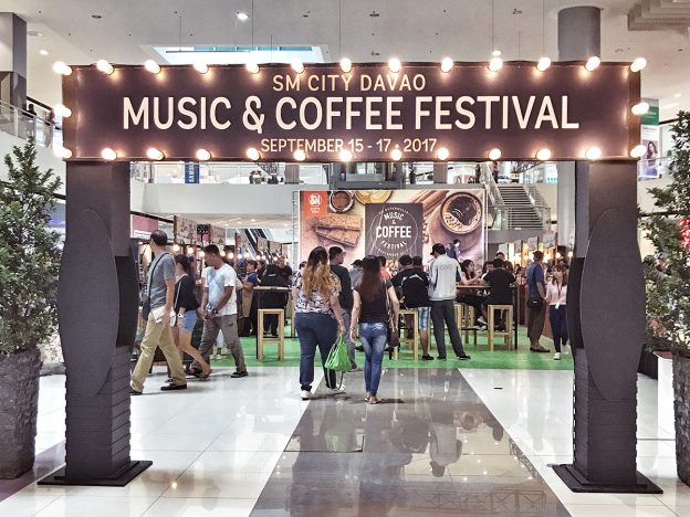 Music and Coffee Festival at The Annex of SM City Davao
