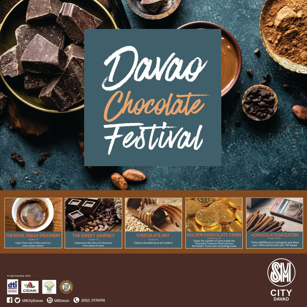 Davao Chocolate Festival 2017 at SM City Davao
