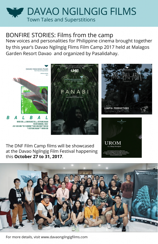 Davao Ngilngig Film Camp 2017